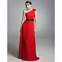 CORNWALL - Kleid für Abendveranstaltung aus Chiffon und Satin