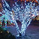 크리스마스 할로윈축제 장식용 10M 6W 100-LED 화이트 라이트 스트링 페어리 램프 (110/220V)