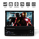 7 polegadas 1DIN carro dvd player com gps ipod Bluetooth DVB-T rds 3d