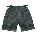 Jaggad- Mens Loose MTB Shorts with 80%Nylon 20%Lycra with Reflective Stripe