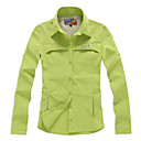 EAMKEVC Women's Long Sleeve Quick Dry Shirt Anti UV Moisture Permeability Red, Green, Yellow