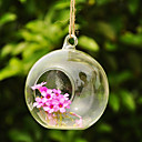 Table Centerpieces Artistic Ball Shaped Hanging Glass Vase  Table Deocrations