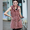 Sleeveless Party/Evening Rabbit Fur Vest (More Colors)