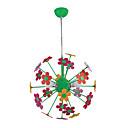 Belle lumière pendentif fleur avec 3 lumières