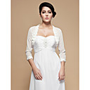 Gorgeous Chiffon 3/4-Length Sleeve Wedding / Special Occasion Jacket / Wrap With Appliques(More Colors)
