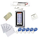 Metal Waterproof Access Controller Kits(Electric Bolt,10 EM-ID Card,Power Supply)