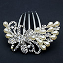 Women's Rhinestone/Alloy/Imitation Pearl Headpiece - Wedding/Special Occasion/Office & Career Hair Combs