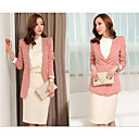Women's Blazer , Lace Long Sleeve