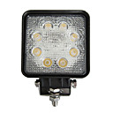 24W Rektangel 8 LED Work Ljus
