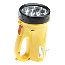 Plastic Yellow LED Flashlight