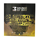 Soldier - (008-038) belagt stål Elektrisk Guitar Strings