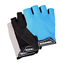 Mesh+Cloth+Fiber Non-Slip+Breathable Half-Finger Cycling Gloves 41413