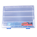 Transparent Lure Box Tackle Box (25*17.5*3.5cm)