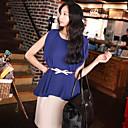 σιφόν πουκάμισο Γυναικεία μπλούζα με στρίφωμα aysm