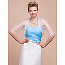 3/4-length Sleeves Organza With Special Occasion Evening Jacket/ Wedding Wrap (More Colors)  Bolero Shrug