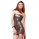 ZHI YUAN Strapless Backless Bodycon Kleid (mehr Farben)