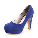 Chic Suede Chunky Heel Pumps Casual / Party / Evening Shoes (More Colors)