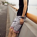 Men's Chinos/Shorts , Casual Print