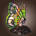 Tiffany tarzı kelebek şeklinde dekorasyon lamba (0835-gt706)