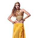 Dancewear Sequins with Tassels Belly Dance Tops For Ladies More Colors