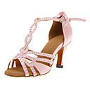 Nice Customized Women's Satin Upper Dance Shoes