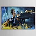 Hand geschilderd olieverfschilderij Mensen Naakt met gestrekte frame 1306-LS0293