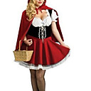 Go For A Picnic Little Red Women's Fairytale Costume