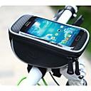ROSWHEEL PVC e PU Material Texture Series Ciclismo de telefone celular bolsa de transporte