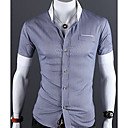 Smart Stand Collar Slim Shirt