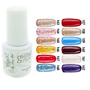 YeManNvYou®Sequins UV Color Gel Nail Polish No.157-168 (5ml, Assorted Colors)