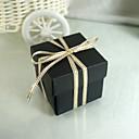 Negro Tarjeta de papel del caramelo Box-Set de 25