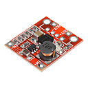 DIY 3V til 5V 1A Boost PCB-modul for Mobile Charger strømforsyning - Red