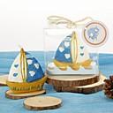 Свечи в форме корабликах, в подарочной коробке