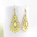 Candy Color Water-Drop Earrings(Assorted Color)
