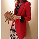여성 싱글 버튼 재킷