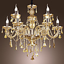 Crystal Chandeliers , Traditional/Classic Living Room/Dining Room/Bedroom Crystal