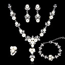Gioielli Set Per donna Perle false/Strass Lega