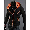 Men's Long Sleeve Hoodie & Sweatshirt , Cotton Blend