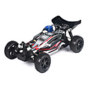 Échelle 1/10 RC Nitro Buggy Single Speed ​​(noir et blanc)