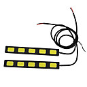 30W High Power 5LED DRL, Ultratynd og ultralet kold wihte tilbage lys
