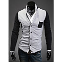 Men's Slim Stitching Cardigan