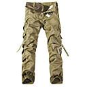 Cargo Multi tasca dei pantaloni del camuffamento degli uomini