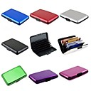 Waterproof  Aluminum Business ID Card Credit Card Wallet Holder Case