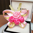 Two Pieces Satin Wedding/Party Corsage(More Colors)