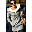 Women's Thicken Fleece Lined Hoodie Coat