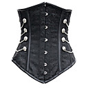 Women Underbust Corset , Polyester/Spandex Lace Up