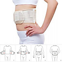 Self Heating Back Supporter Waist Lower Back Support Belt Breathable Brace-BLACK