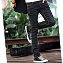 Men's Jeans , Casual Pure Cotton Blend