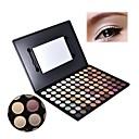 88 Eyeshadow Molhado Paleta da sombra Pó Normal