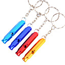 Udendørs Alloy Multi-purpose Survival Whistle (tilfældig farve)